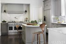 kitchen & dining | blue | black | gray / by Angie Helm Interiors