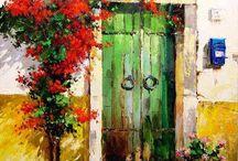 Masal evler masal kapılar