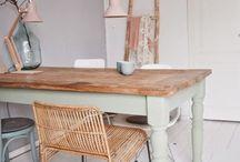 Rénovation table