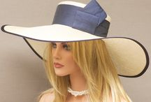 Ladies's Wide Brim Hats / Head Covering / by Anne Parker
