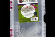Storage Solutions / Our Utility Boxes available at Hobby Lobby are perfect for storing & organizing small craft supplies!