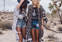 Boho Vibes / Fashion inspiration