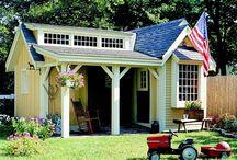 Cottages, Cabins & Garden Sheds / by Debbie Tomlinson