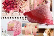 Design boards - color inspirations / by Pretty Posh Events