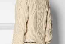 Női kötött pulóverek