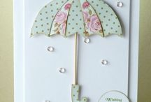 Umbrellas / You don't have to save umbrellas for a rainy day - use the designs in your crafting! Check out some lovely inspiration here.