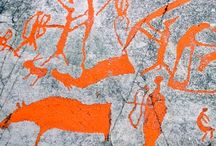 Rock carvings i Skandinavia