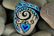 Peinture sur roche