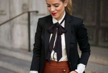 gravata feminina