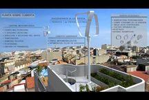 """Vivienda Ecoeficiente / Eco-efficient housing (Valencia.Spain) / Renders y Vídeo Promocional 3D realizados por ABpositivo3D para Gecohomeproject.   Prototipo de Vivienda Unifamiliar de Clasificación """"A"""" entre medianeras, bioclimática, de cero emisiones y con alta Eficiencia Energética.  Renders and 3D Promotional Video made by ABpositivo3D for Gecohomeproject.  Houses Prototype Classification """"A"""" between party bioclimatic zero emissions and high energy efficiency.   / by AB positivo 3D"""