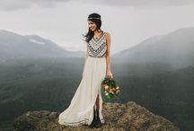 Hochzeit  _ Mountain - Bohemien / Hochzeit in den Bergen