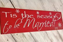 Winter Wonderland Wedding / Tis' the season to be jolly!