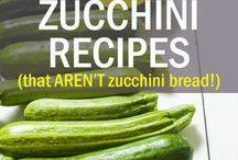 Recipes, Zucchini