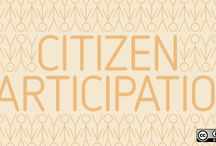 Citizen Participation / Get the most out of your government by participating in it!