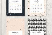♥ kalender / inspirasjon til design og redesign