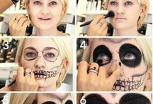 Skeleton Facepainting