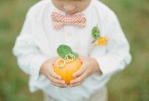 Peach, Orange and Tangerine