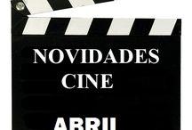 Cine ABRIL 2017 / Novidades de CINE en Abril do 2017 na Biblioteca Ánxel Casal