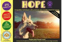 chiens hope pet food croquettes naturelles
