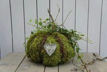 freubelen / herfst decoratie