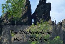 Reisen - Harz / Auf dieser Pinnwand pinne ich Pins mit Tipps und Empfehlungen für Reisen in den Harz.