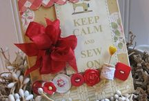 Cards: Sewing & Gardening / by Hope Brookins