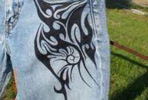 Tattooed Jeans