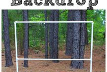 DIY Backdrops and Photobooths