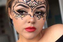 Make up:karneval, hallowen...❤