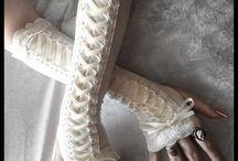 Cuffs, fingerless gloves & wrist warmers