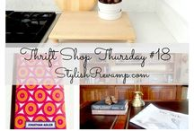 Stylish Revamp Thrift Shop Finds / Sharing all of my Thrift Shop FInds