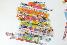 Art - Junk Mail Art / by Teresa Pannell