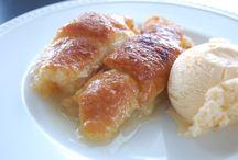 Apple dumplings / Breakfast or desserts