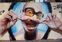 EXHIBICIONES GRAFFITI / Murales de exhibición graffiti de Mateo Lara