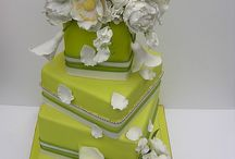 Wedding Cakes - Green