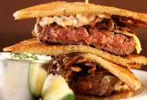 Burger Favorites And Recipes / Burgers are one of America's favorite meal time staples.  From the plainest of them all, to the most lavish, find all your burger needs here on our board!  Enjoy! / by The Daily Meal
