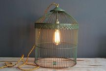 Lighting ideas / Ideas to do with flea market/thrift store finds! / by Wendy Patterson