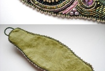 Embroidered cuffs & bracelets
