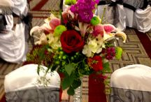 Weddings / Wedding flowers and set ups