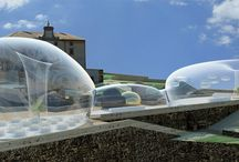 Aria / temporary installation / 'Aria' is a temporary installation on the top of 'Forte Belvedere',in Florence.
