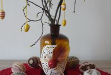 dekorace vajíček / dekorace vajíček