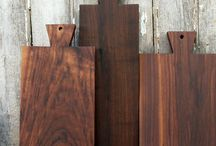 Cutting and serving boards