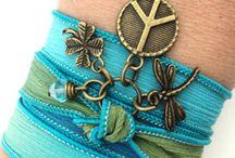 Handmade Bracelets Silk