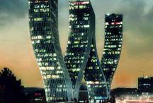 moderne gebouwen