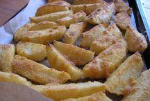 cartofi croc. la cuptor ,cartofi la cupt. cu lapte, dif. retete de cart. la cupt.,