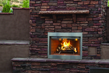 Outdoor Fireplaces:  Wood / Enjoy your outdoor living area with a wood burning fireplace available to purchase online at DiscountFireplaceOutlet.com