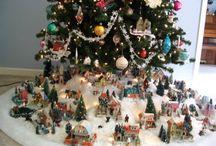 villas navideñas ceramica
