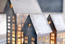 Idee per la casa - Natale / Il #Natale sta arrivando! Come allestirete le vostre case?  Edilcuoghi vi suggerisce qualche #idea per riscaldare gli ambienti di #casa con un tocco di fantasia.  Avete altre idee? Mandateci le vostre foto!