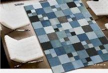 koberečky, polštáře, deky