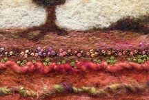 stitching and felting / by incababe